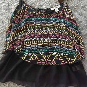 Aztec two layer top